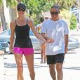 Exclusif - Stacy Keibler et son mari Jared Pobre en tenue de sport à Los Angeles Le 29 Août 2015  For Germany Call For Price Exclusive... 51835547 Model Stacy Keibler and her husband Jared Pobre walk hand in hand while enjoying a hike at Runyon Canyon in Los Angeles, California on August 28, 2015. The happy couple tied the knot last March.29/08/2015 - Los Angeles