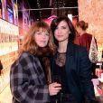 Exclusif -Gwendoline Hamon et Alice Dufour assistent à l'inauguration de la boutique Lancôme au 52, Avenue des Champs-Elysées à Paris le 4 décembre 2019. © Rachid Bellak/Bestimage