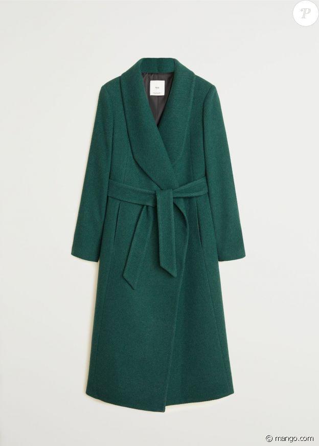 Le manteau Mango de Pippa Middleton, porté le 4 décembre 2019 à Londres.