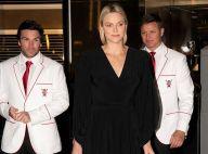 Charlene de Monaco : Visage au naturel et robe décolletée à Dubaï