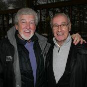 Bernard Le Coq et Bernard Ménez : Une pétanque dans le froid pour le Téléthon
