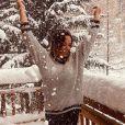 Kelly Helard en vacances à la neige, le 1er décembre 2019, photo Instagram