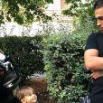 Neymar avec son fils Lyam, 4 ans - photo Instagram du 2 septembre 2018
