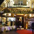 """Soirée hommage à Jean-Pierre Mocky """"70 ans de cinéma"""" à la brasserie """"Les Deux Magots"""" à Paris. Le 9 décembre 2019 © Christophe Aubert via Bestimage"""