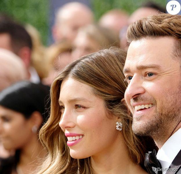 Jessica Biel, Justin Timberlake People au 70ème Primetime Emmy Awards au théâtre Microsoft à Los Angeles le 17 septembre 2018.