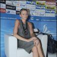 Charlene Wittstock à Rome pour les championnats de natation le 26 juillet 2009