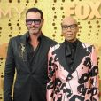"Georges LeBar et RuPaul aux 71e ""Primetime Emmy Awards"". Microsoft Theater , Los Angeles. Le 22 septembre 2019. @Sara de Boer/Startraks/ABACAPRESS.COM"