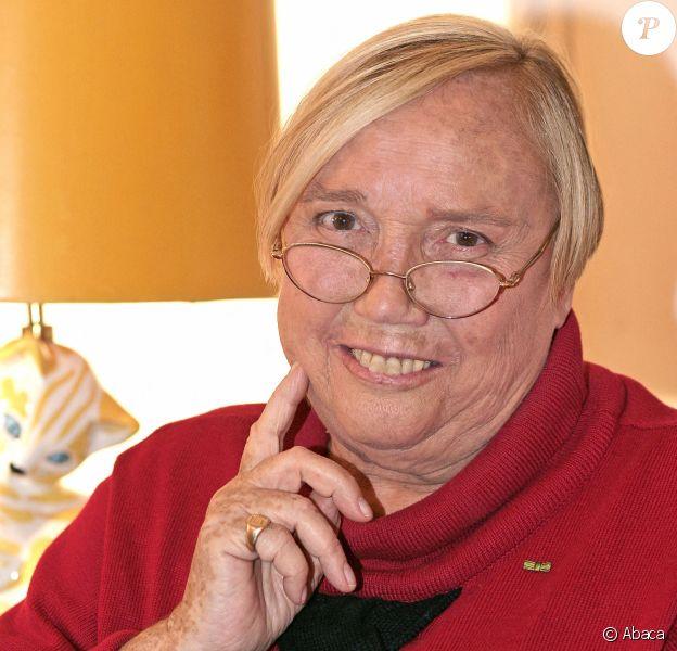 Nicole de Buron en décembre 2005 à Paris. L'auteure de Sainte Chérie est décédée en décembre 2019 à 90 ans.