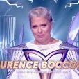 """Laurence Boccolini en larmes après sa victoire à """"Mask Singer"""", le 13 décembre 2019 sur TF1."""