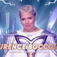 """Laurence Boccolini, démasquée sous le costume de la licorne, remporte l'émissions """"Mask Singer"""", le vendredi 13 décembre 2019 sur TF1. Elle dédicace sa victoire à sa fille, Willow."""