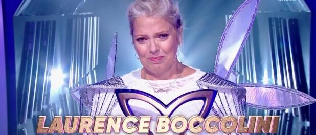 Mask Singer : Laurence Boccolini gagnante en larmes dédie sa victoire à sa fille