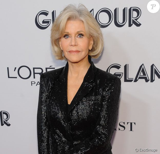 "Jane Fonda - Photocall de la soirée ""Glamour Women of the Year Awards 2019"" à New York, le 11 novembre 2019"