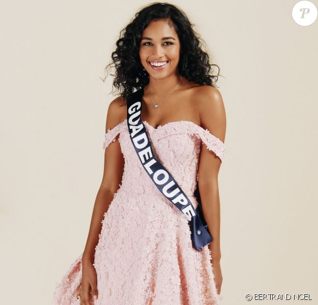 Miss Guadeloupe : Clémence Botino, 22 ans, 1,74 m, actuellement en première année de Master Histoire de l'Art.