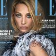 """Laura Smet en couverture du magazine """"ELLE"""", numéro du 20 décembre 2019."""