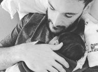 Hugo Lloris : Papa câlin avec son fils Léandro