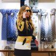 Mariah Carey et son compagnon B.Tanaka sont allés faire du shopping chez Gucci et chez Louis Vuitton, à Aspen dans le Colorado, le 21 décembre 2019.