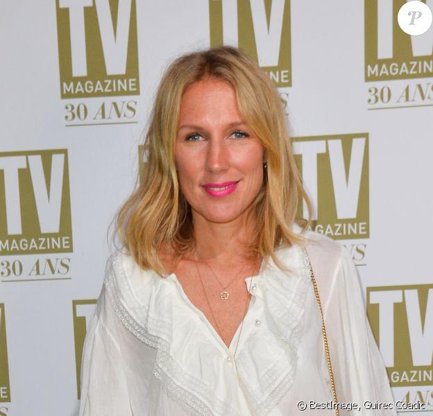 Exclusif - Agathe Lecaron - Soirée d'anniversaire des 30 ans de TV Magazine au Pavillon des Champs-Elysées à Paris le 17 octobre 2017. © Coadic Guirec/Bestimage