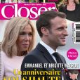 Couverture du nouveau magazine Closer en kiosques vendredi 27 décembre 2019