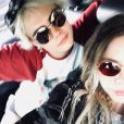 Ashley Benson et Cara Delevingne sur Instagram.