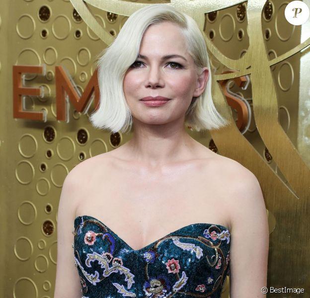 Michelle Williams - Les célébrités assistent à la cérémonie des Emmy Awards à Los Angeles, le 22 septembre 2019.