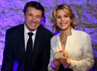 Laura Tenoudji soutient Christian Estrosi à Nice, avant de repartir avec Bianca