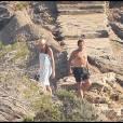 """""""Nicolas et Carla Sarkozy ont pris leur premier bain au Cap Nègre, le 31 juillet 2009"""""""