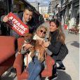Caroline Margeridon (Affaire conclue) avec ses enfants, Alexandre et Victoire - Instagram, 25 mars 2019