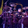 Neil Peart du groupe Rush en concert le 15 juin 2007 à West Palm Beach, en Floride.