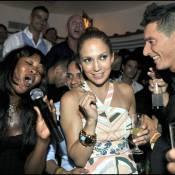 Quand Jennifer Lopez et Naomi Campbell, déchaînées, s'éclatent en Italie avec leurs hommes !