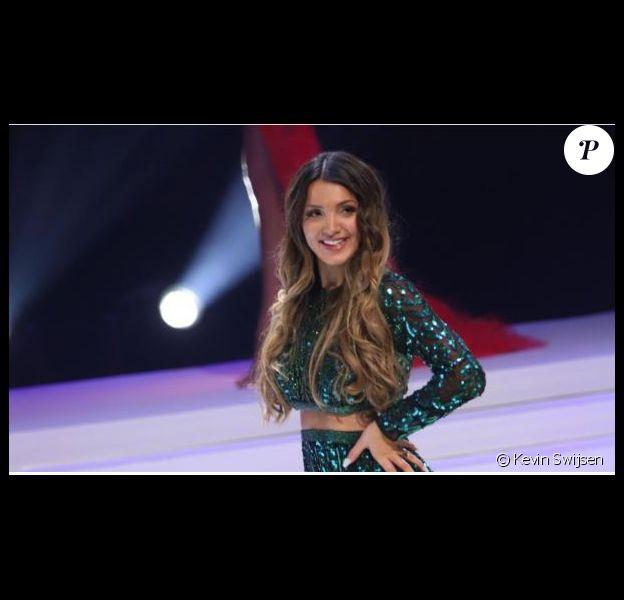 Cindy, prétendante au titre de Miss Belgique 2020