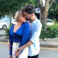 """Fanny Rodrigues de """"Secret Story 10"""" et son compagnon Joao, sur Instagram, le 29 juillet 2019"""