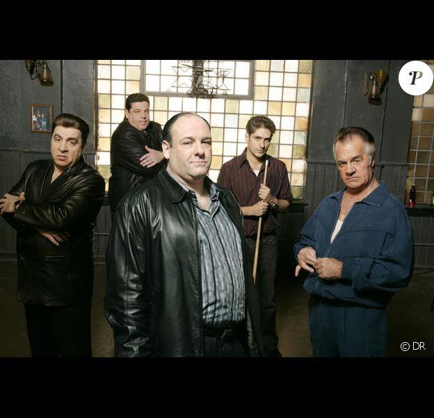 James Gandolfini dans la série Les Sopranos