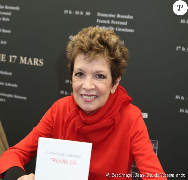 Catherine Laborde - Salon du Livre 2019 à la Porte de Versailles à Paris du 15 au 18 mars 2019. © Jean-Claude Woestelandt / Bestimage
