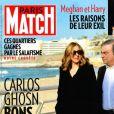 """Couverture de """"Paris Match"""", numéro du 16 janvier 2020."""