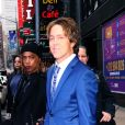 Larry Birkhead fait un passage à l'émission Good Morning America (GMA) à New York le 14 janvier 2020.
