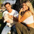 Elsa Dasc et son mari Arthur posent avec un lionceau - Instagram, 19 janvier 2020