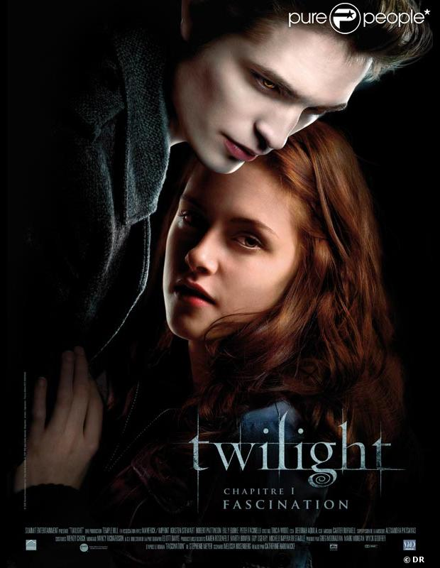 L'affiche du premier volet de Twilight, Fascination
