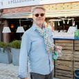 """Le critique culinaire Sébastien Demorand (Masterchef) - Soirée """"Grand Fooding S. Pellegrino"""" au marché Paul Bert Serpette à Saint-Ouen, le 6 juin 2015"""
