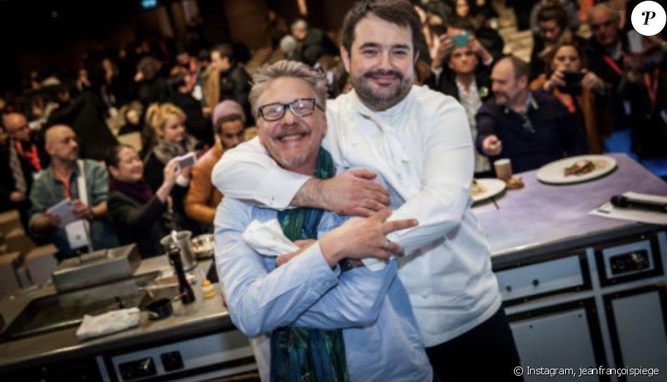 Jean-François Piège et Nicolas Demorand, photo Instagram du 21 janvier 2020