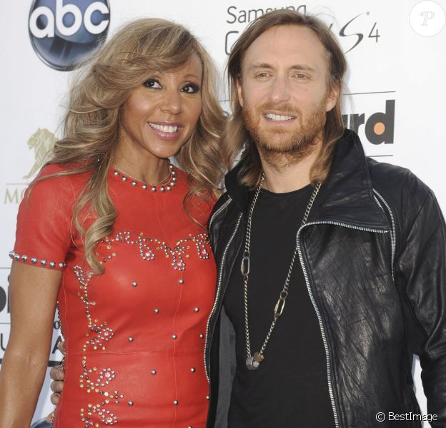 "David Guetta, Cathy Guetta - Soiree ""2013 Billboard Music Awards"" au ""MGM Grand Garden Arena"" a Las Vegas, le 19 mai 2013."