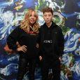 Exclusif - Cathy Guetta et son fils Tim Elvis - People au défilé Kenzo Homme collection Automne-Hiver 2019/20 lors de la fashion week à Paris, le 20 janvier 2019. © Veeren/CVS/Bestimage