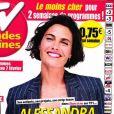 """Couverture du magazine """"TV Grandes Chaînes""""."""