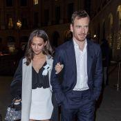 Alicia Vikander : Balade nocturne à Paris avec son mari Michael Fassbender