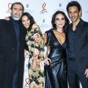 Éric Cantona et Tomer Sisley : Avec leur femme pour soutenir le Sidaction