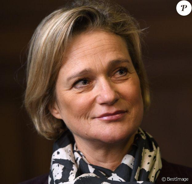 Delphine Boël, ici le 29 novembre 2019 lors de l'examen du pourvoi en cassation du roi Albert à Bruxelles, est bien la fille biologique du roi Albert II des Belges, selon le rapport de l'analyse ADN rendu public le 27 janvier 2020.