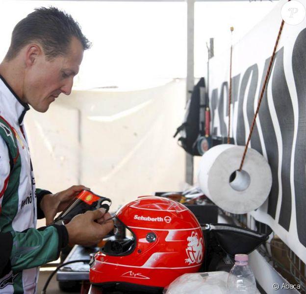 Michael Schumacher a entamé sa préparation physique pour le Grand Prix d'Europe du 23 août 2009