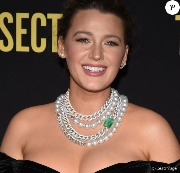 """Blake Lively - Projection du film """"The Rhythm Section"""", de Reed Morano, au Brooklyn Academy of Music à New York. Le 27 janvier 2020."""