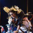 Steven Tyler s'est blessé lors d'un concert d'Aerosmith à Sturgis, le 5 août 2009