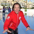 Philippe Candeloro (vice président du Skating Club de Monaco) lors de la journée du championnat de patinage et gala de fin de saison sur la patinoire au port Hercule à Monaco, le 2 mars 2019. © Bruno Bebert/Bestimage