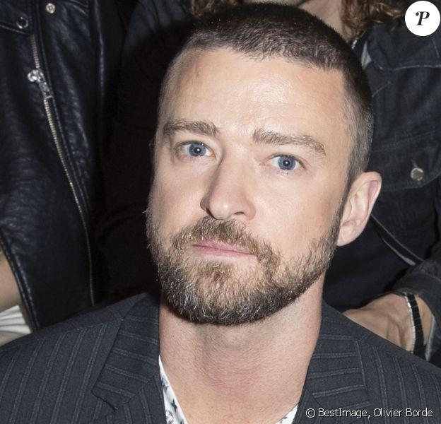 Justin Timberlake - Front Row du défilé de mode PAP femme printemps-été 2020 Louis Vuitton à Paris. Le 1er octobre 2019 © Olivier Borde / Bestimage